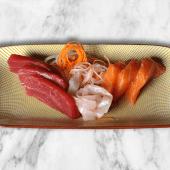 Sashimi variado (9 uds.)