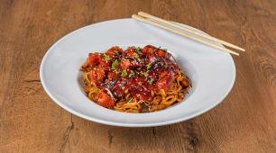 Tuna wok