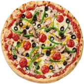 Pizza Vegetariana Ø 24cm