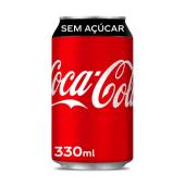 Coca-Cola Sem Açúcar Lata 330ml~