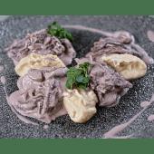 Бефстроганов з картопляним пюре (300г)