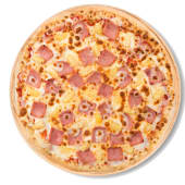 Pizza tropicale (familiar)