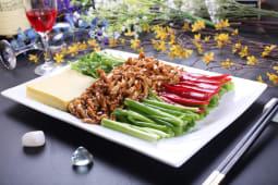 Свинина по-пекінськи з соєвим соусом (350г)