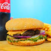 Гамбургер классик комбо