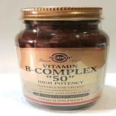 Vitamina B-Complex 50 (100 cápsulas)