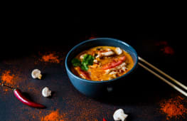 Tom Yum with Chicken