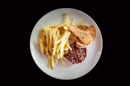 Steak tartar a cuchillo