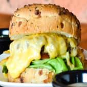 Hamburguesa 4 quesos