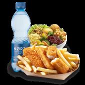 Zestaw z Fish & Chips z mintajem