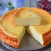 Pastel cheese cake