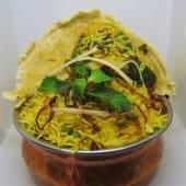 Vegetable biriyani (sin gluten)