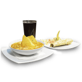 Menú almuerzo mexicano
