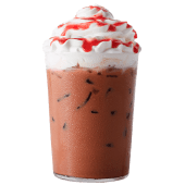 Iced Merry Strawberry Mocha
