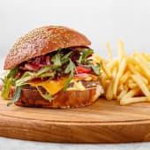 Бургер Чіз бекон (360/150/50г)