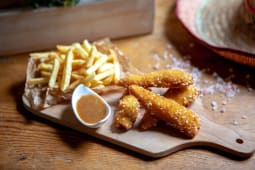 Meniu chicken fingers