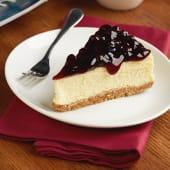 Blueberry Cheesecake تشيز كيك توت أزرق