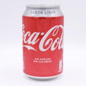 Coca Cola Light Lata De 33 Centilitros