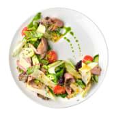 Салат з качиною грудкою, грушею та медово-кунжутною заправкою (235г)