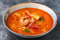 Суп Том Ям з креветкою (300г)
