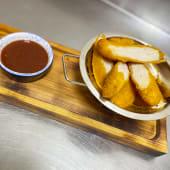 Чікен нагетси з соусом BBQ (150/30г)