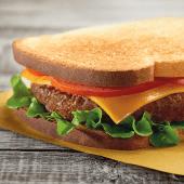 Burger toast
