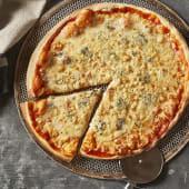 Pizza Con Formaggio Di Capra
