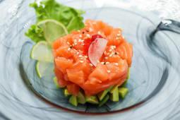 Tartare salmon