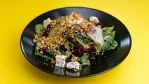 ისპანახის სალათი
