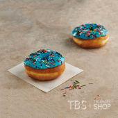 Blue Icing Doughnut