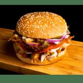 Porto-Burger cu pui la jar