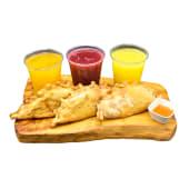 Combo trío empanadas La Macha (3 empanadas + 3 bebidas)