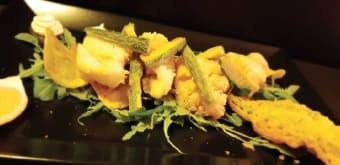 Frittura di baccalà con patate