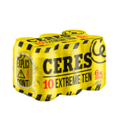 6-PACK Ceres Extreme Ten 33 cl