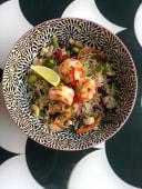 Thai chicken shrimps