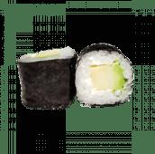 91. Hosomaki aguacate y queso (8 uds)