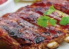 Шашлик зі свинячих ребер (200г)