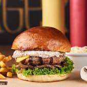 Бургер Грибний з сиром
