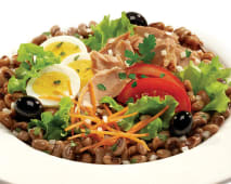 Saladas - Sugestão Atum e Feijão Frade
