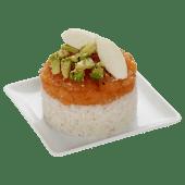 Tartare saumon fromage