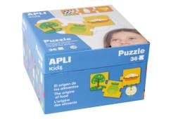 Puzzle Origem Dos Alimentos Apli 36pcs 14360
