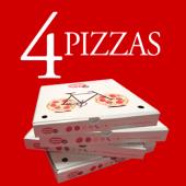 Combo 4 Pizzas recién horneadas (4.5€/pizza)