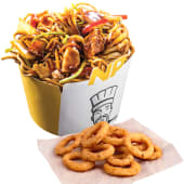 Noodle Pack Bamboo Chicken cu Onion Rings cadou