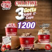 3 Gotta Have it™️ Cups @ 1200