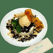 Tarta de queso y oreo
