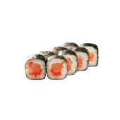 Макі з копченим лососем (8шт)