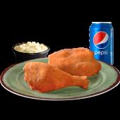 Glovo Menú: 2 piezas de pollo tradicional + ensalada + Bebida (33%OFF)
