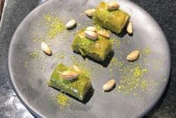 Rouleaux de Baklava pistache