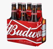 Cerveza Budweiser Sixpack Bot 343 Ml
