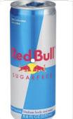 Redbull Sugar Free (25 cl.)
