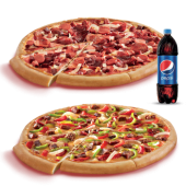 Maç Menüsü (Orta Boy Gurme Pizzalar)